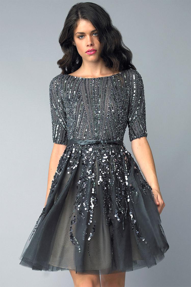модное коктейльное платье 2016