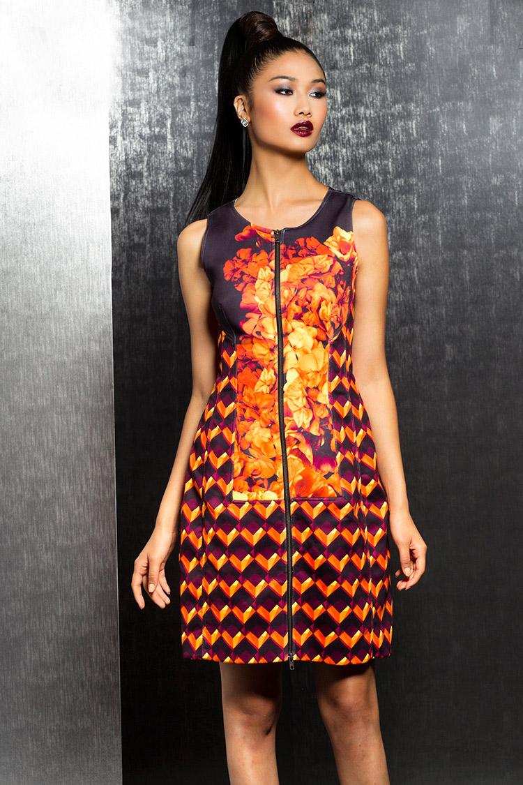 вечернее коктейльное платье в китайском стиле