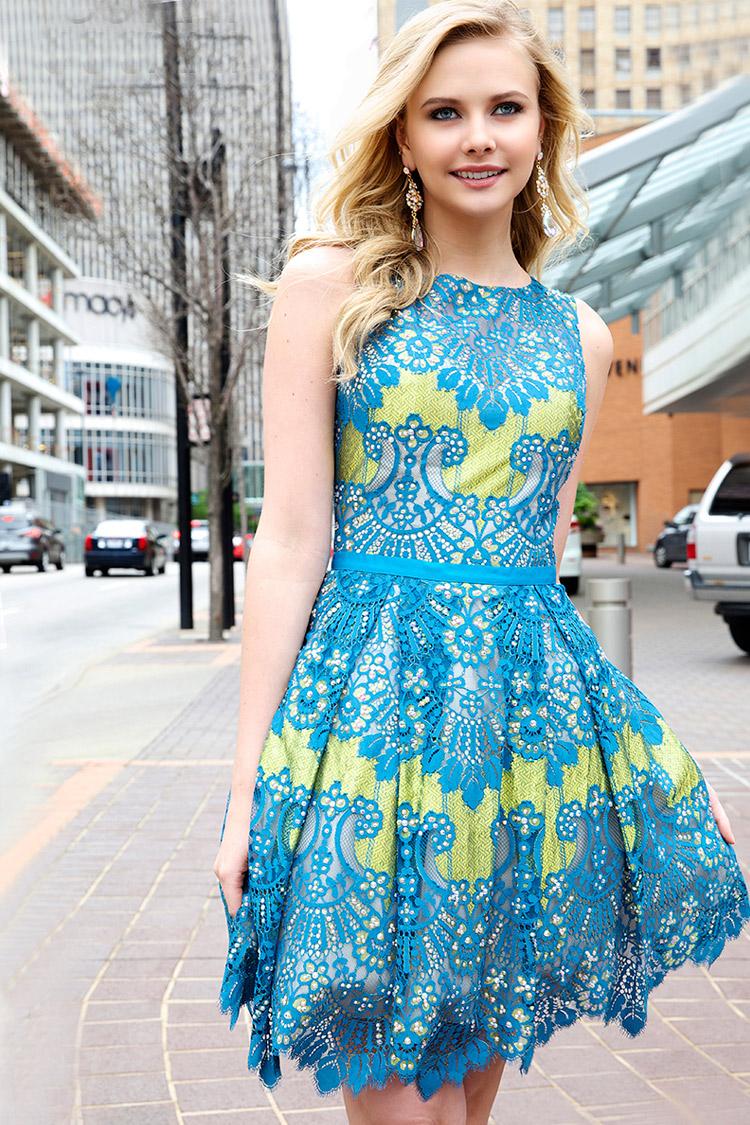 дешевое коктейльное платье 2016