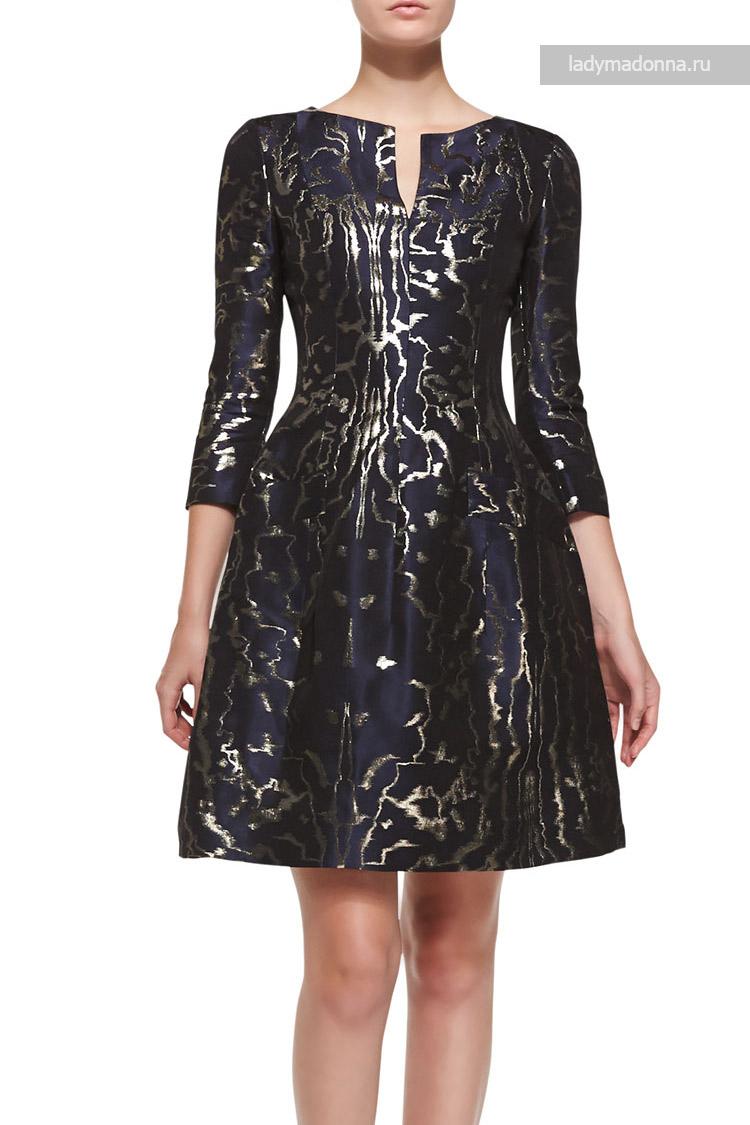 коктейльное платье А-формы