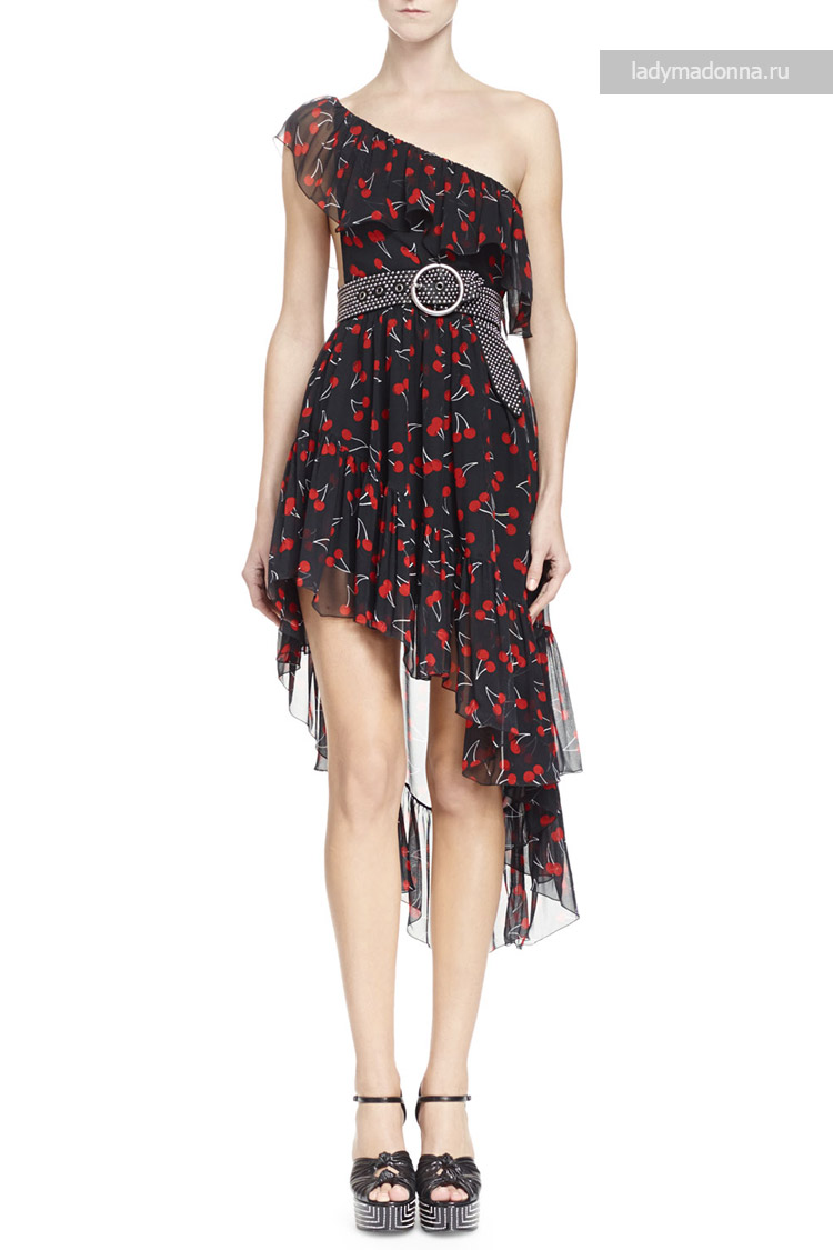 коктейльное платье с Ив Сен Лоран