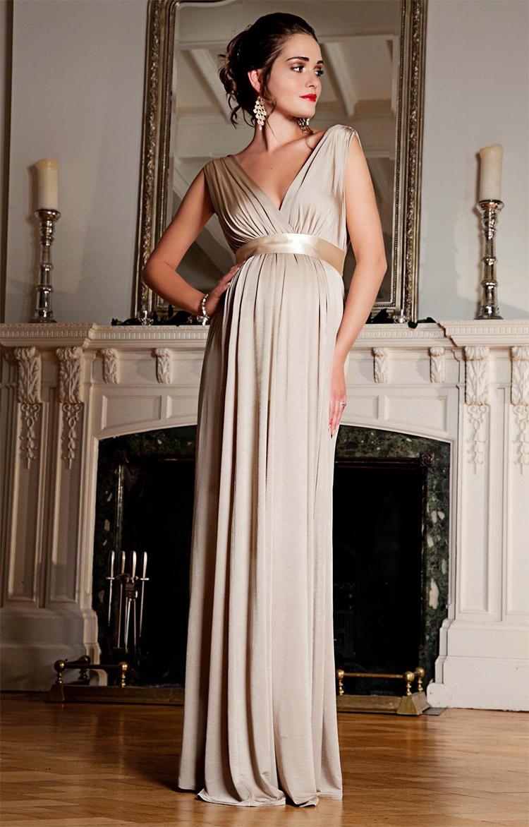 платье на свадьбу для беременной