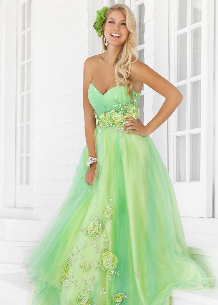 самое красивое платье на выпускной