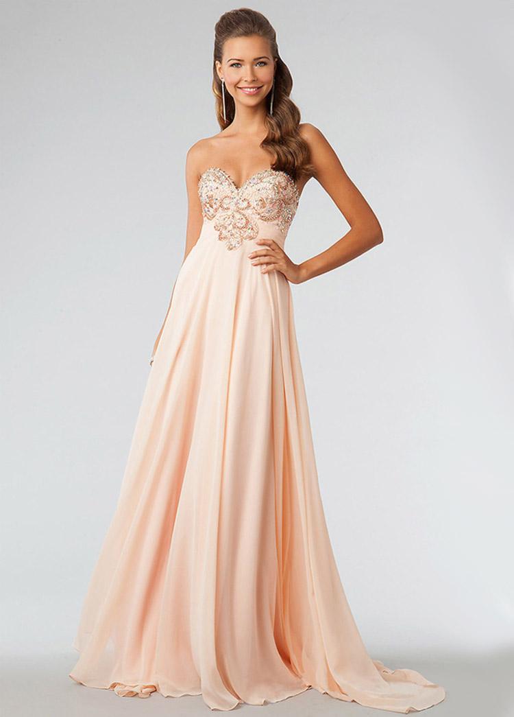 яркое платье на выпускной