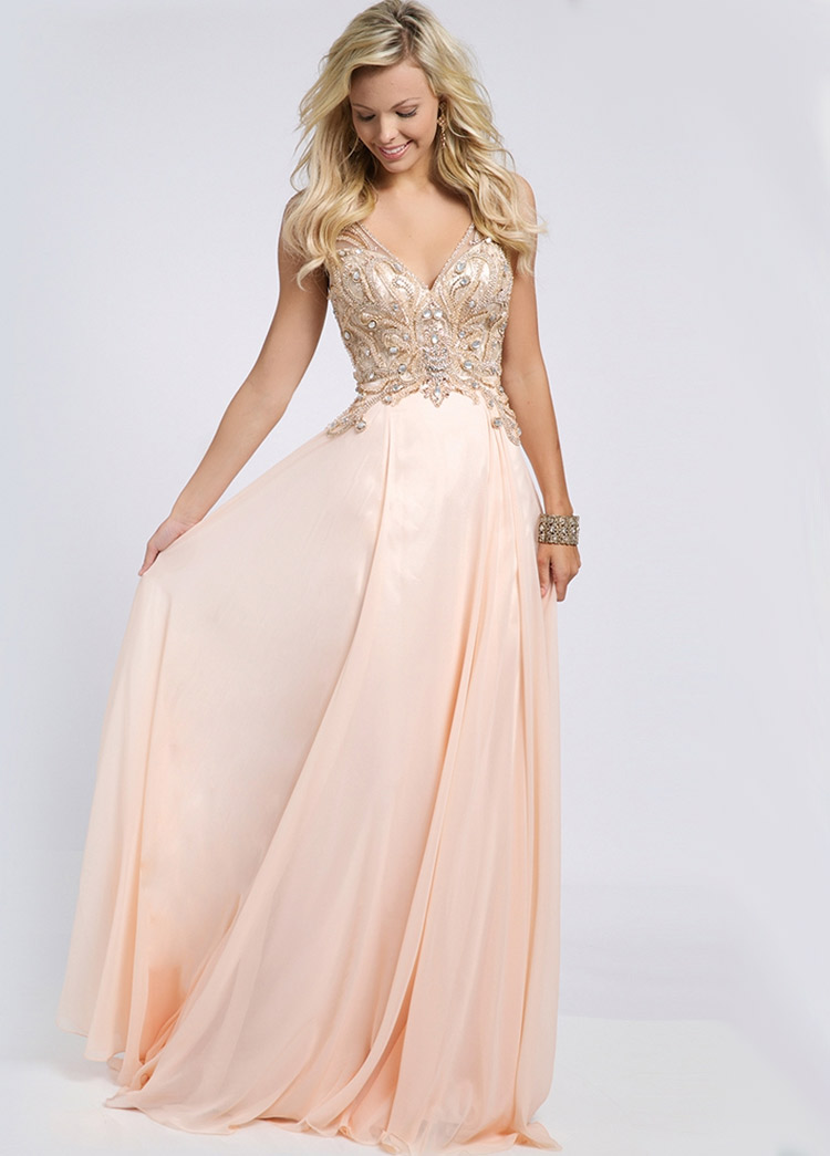 платье на выпускной в стиле ампир