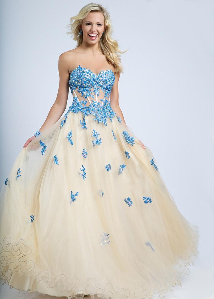Фото платье на выпускной 2016