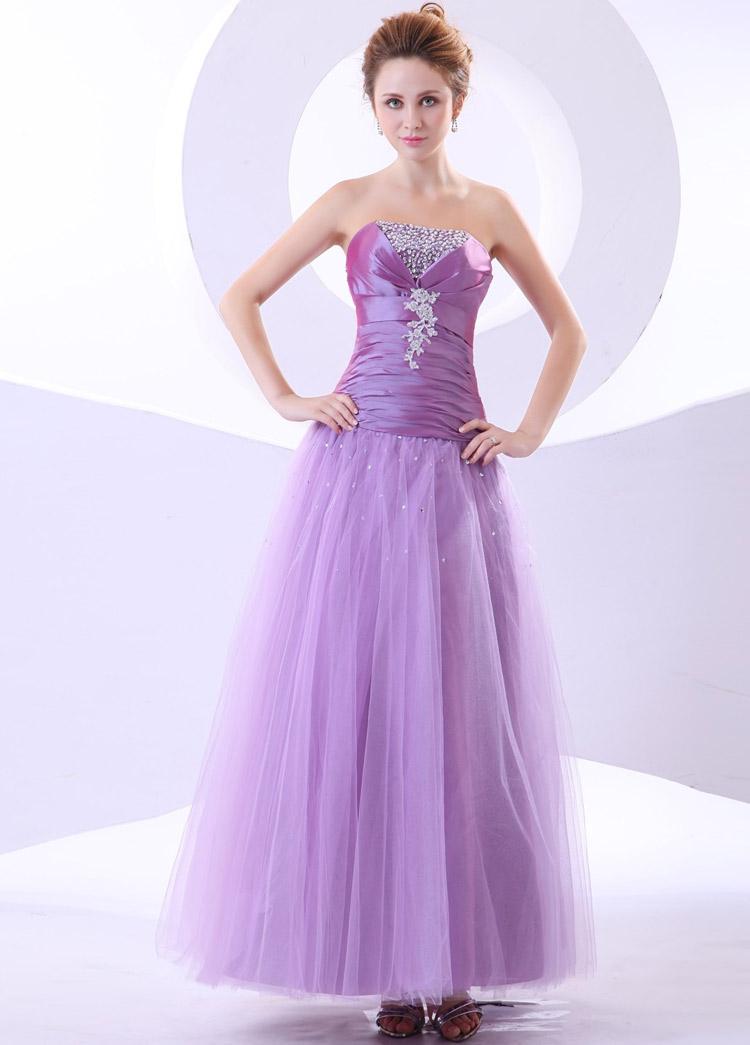 простое платье для выпускного бала