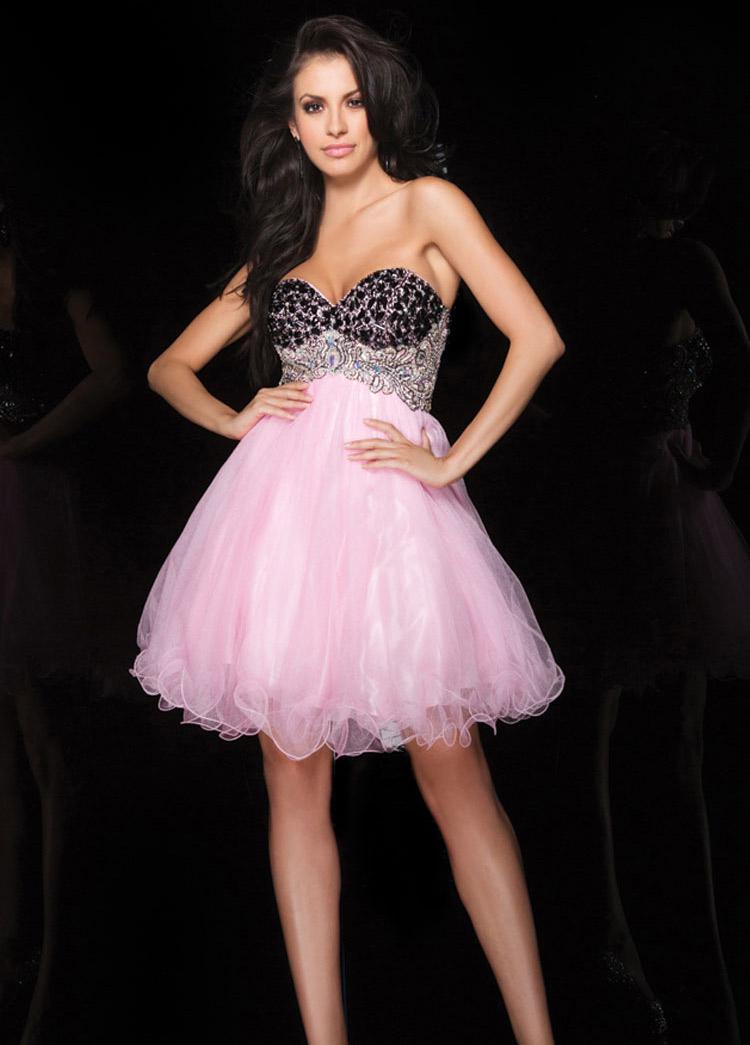 платье в на выпускной А-типа
