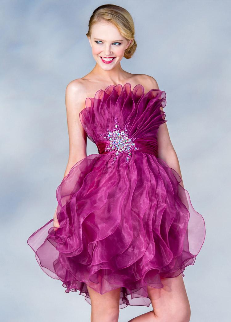 фото самого популярного платья на выпускной в США