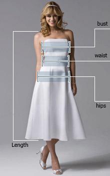 ка выбрать размер платья Vera Wang