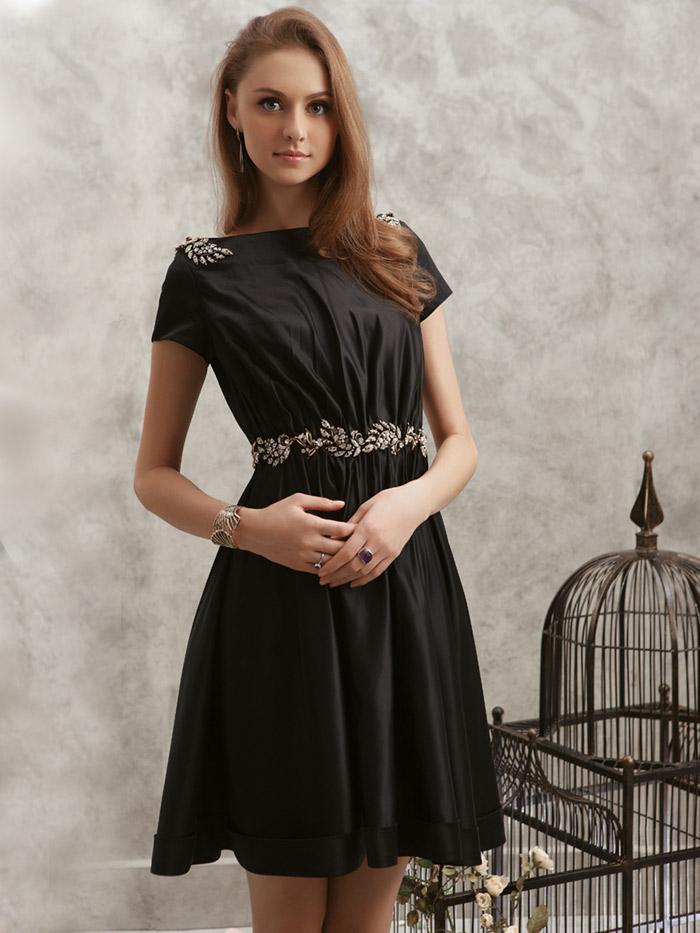строгое платье для вечера