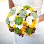 свадебный букет для весенний свадьбы