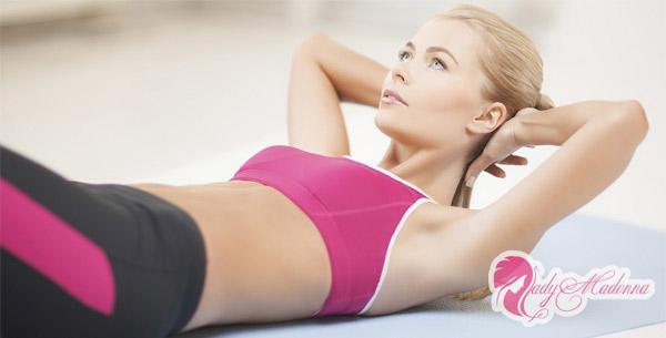 Упражнения для плоского живота