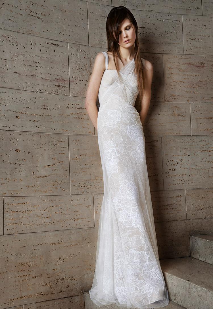 свадебное платье Vera Wang коллекции 2015
