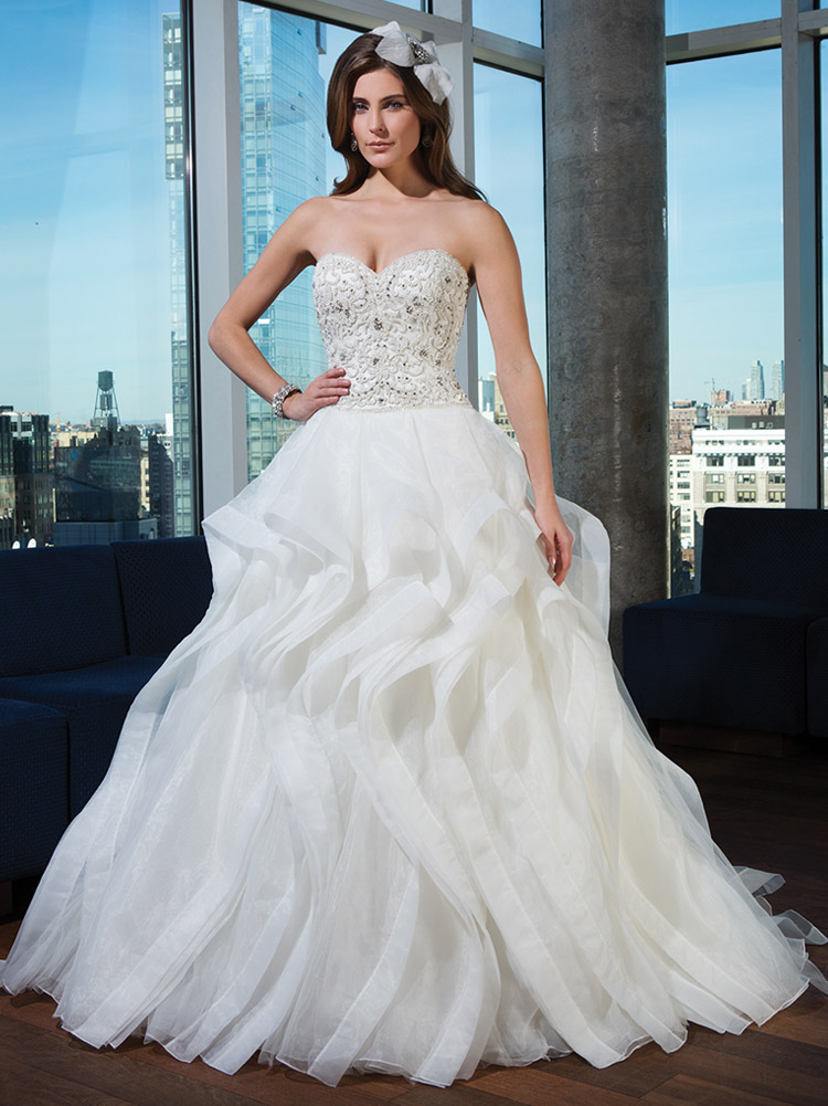 шикарное свадебное платье 2016