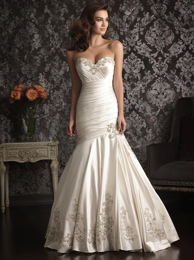 пышное свадебное платье юбка от колен