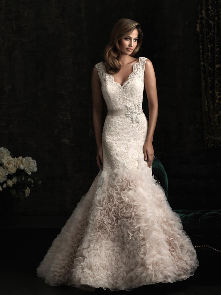 пышное свадебное платье А-типа