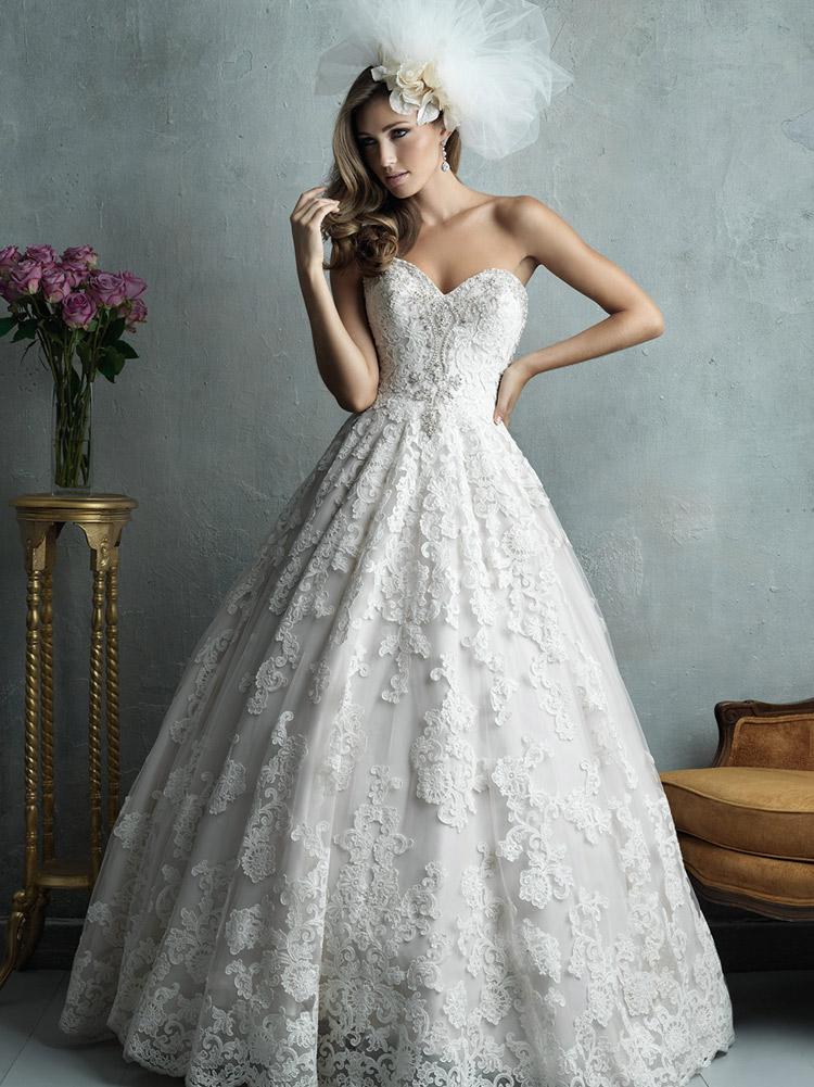 свадебное платье с завышенной талией