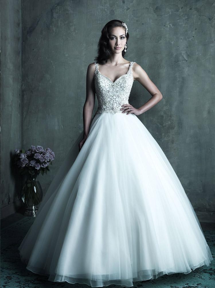 пышное платье невесты 2016