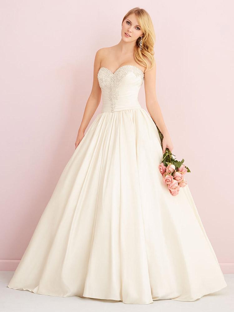 пышное свадебное платье осень 2016