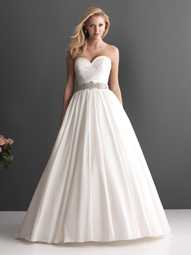 пышное свадебное платье для полной фигуры