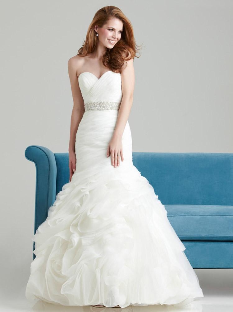пышное свадебное платье для стройной невесты