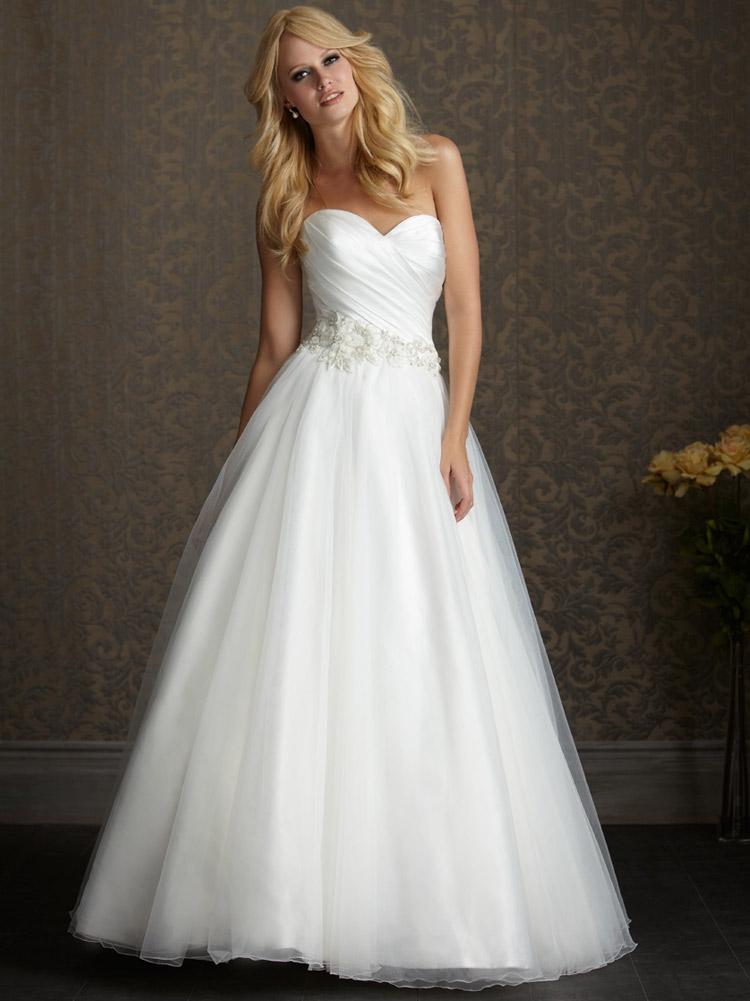 пышное свадебное платье длинное