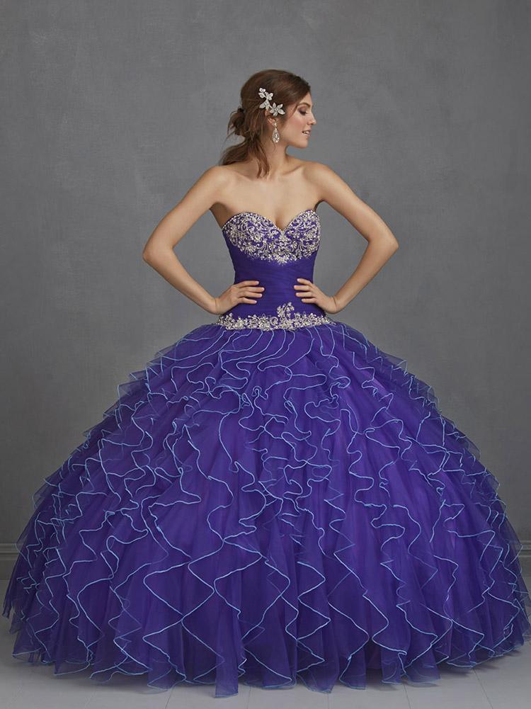 пышное платье невесты коллекции весна 2016