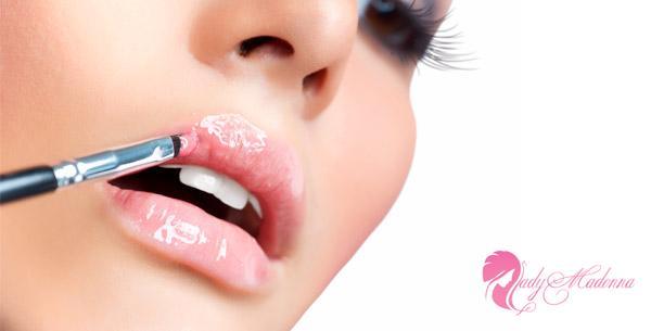 рецепт блеска для губ своими руками