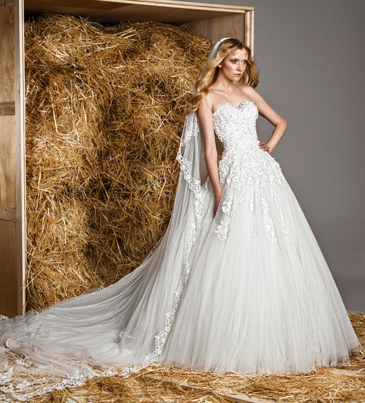 Свадебное платье коллекции 2015