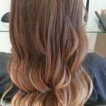 окрашивание светлых волос техникой балаяж