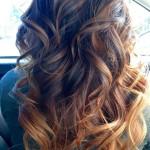 окрашивание балаяж русые волосы