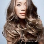 окрашивание темные русые волосы