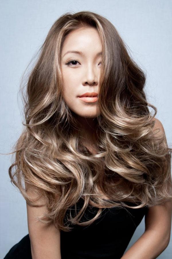 Балаяж на мелированные волосы - fb4f