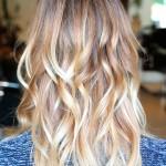 малирование на русые волосы