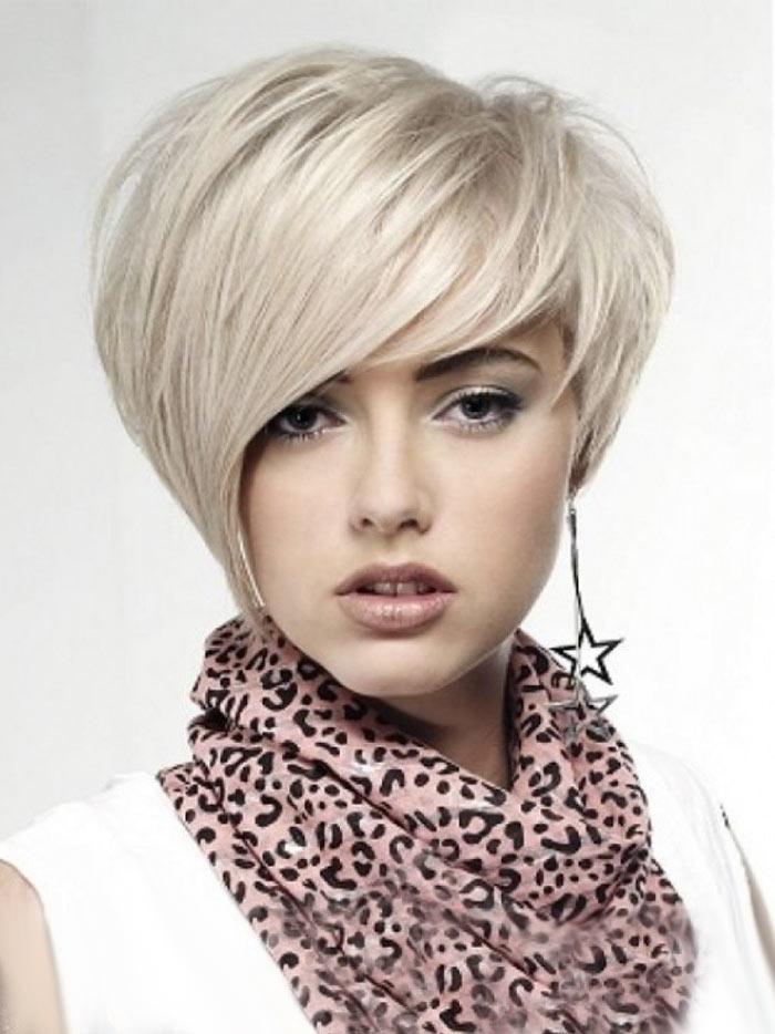 Модные стрижки на короткие волосы по типу лица