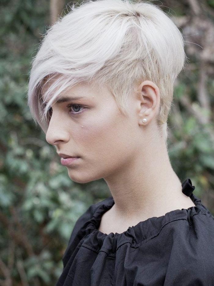 прически на короткие волосы 2016 для треугольного лица